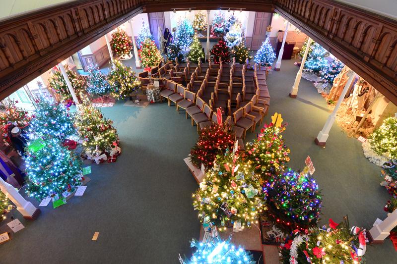 15th Hungate Church Christmas Tree Festival