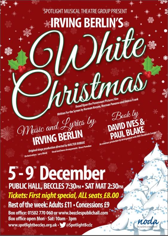 White Christmas Irving Berling.Irving Berlin S White Christmas Visit Beccles